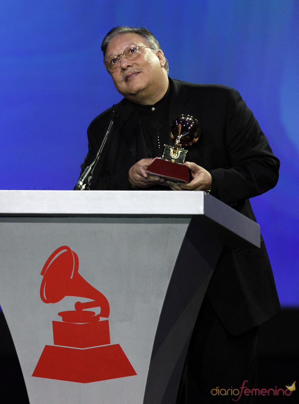 Arturo Sandoval recibió el premio al mejor álbum instrumental