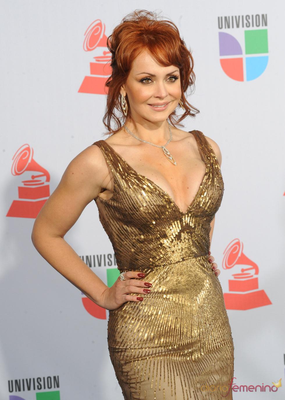 Gaby Spanic en los Grammy Latino 2010