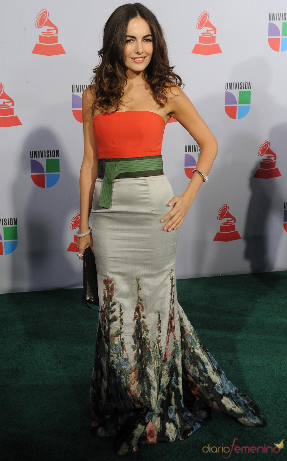 Camilla Belle en los Grammy Latino 2010