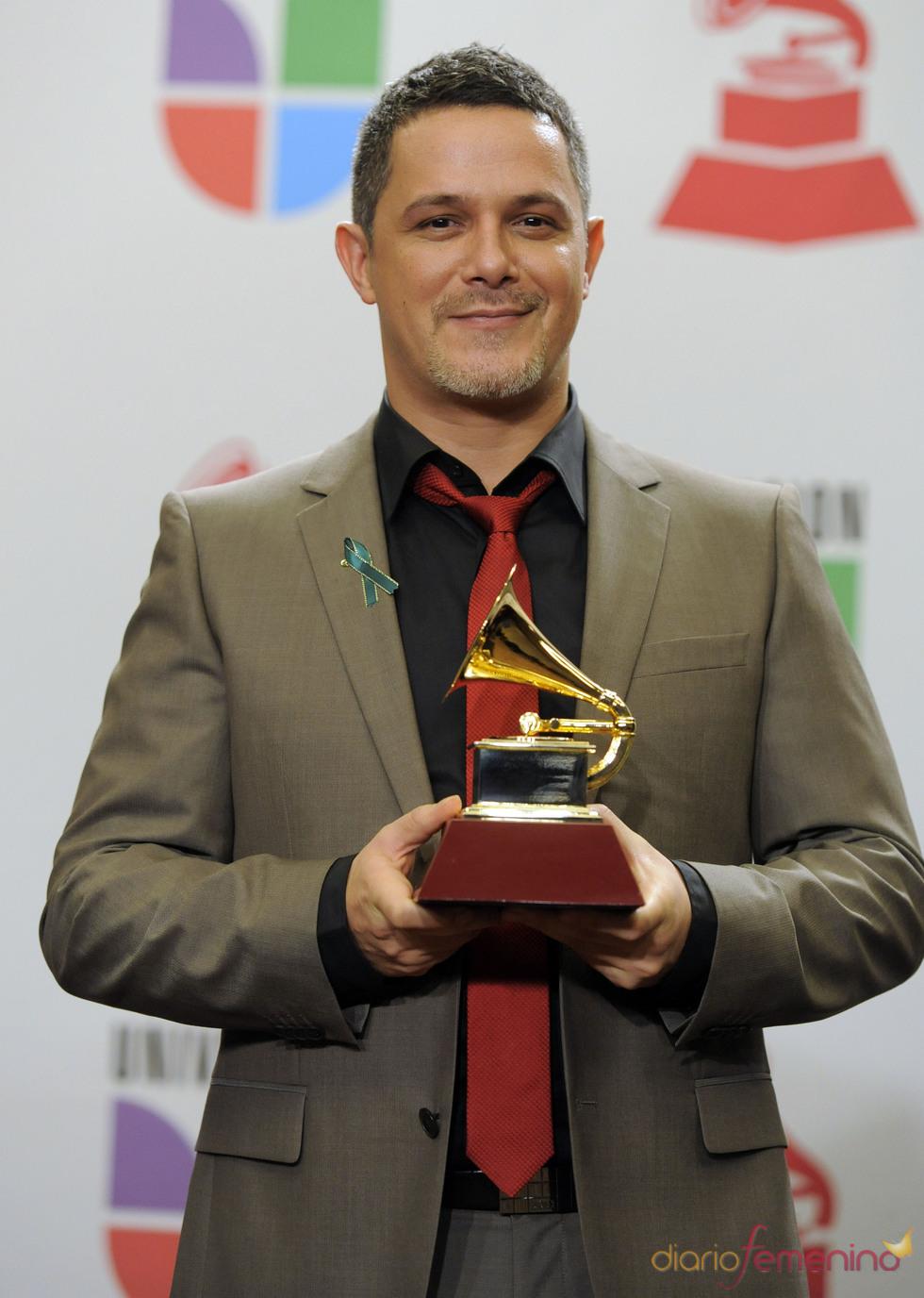Alejandro Sanz premiado en los Grammy Latino