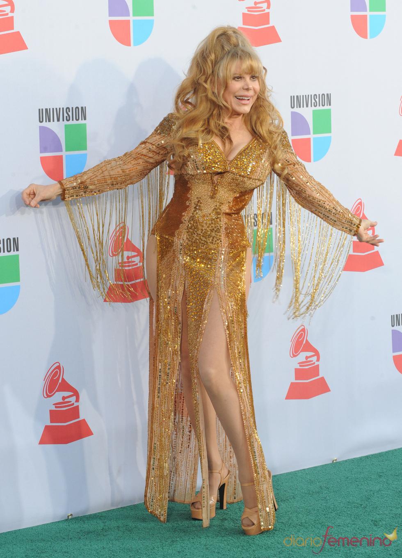 Charo en los Grammy Latino 2010