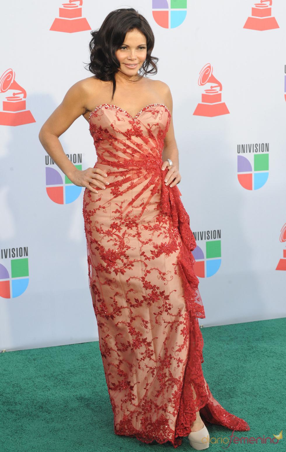 Julie Ferretti en los Grammy Latino 2010