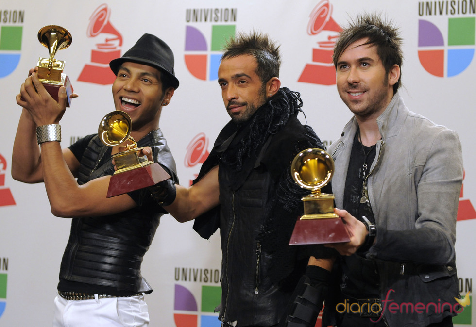 El grupo mejicano Camila triunfó en los Grammy Latino