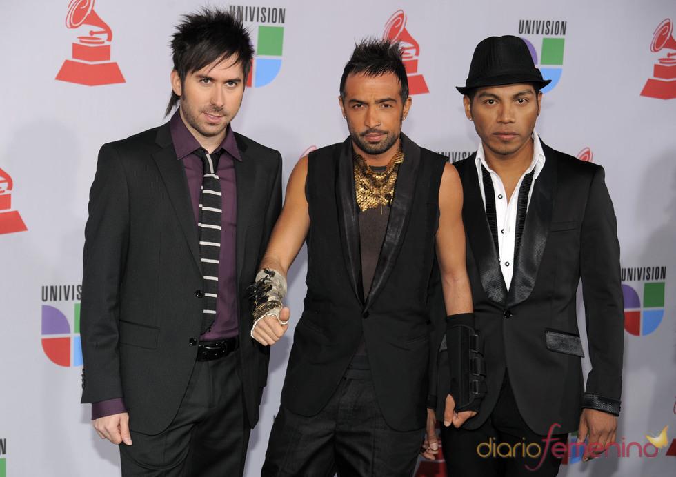 Camila en los Grammy Latino 2010