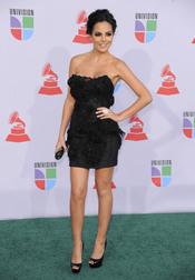 Ximena Navarrete en los Grammy Latino 2010
