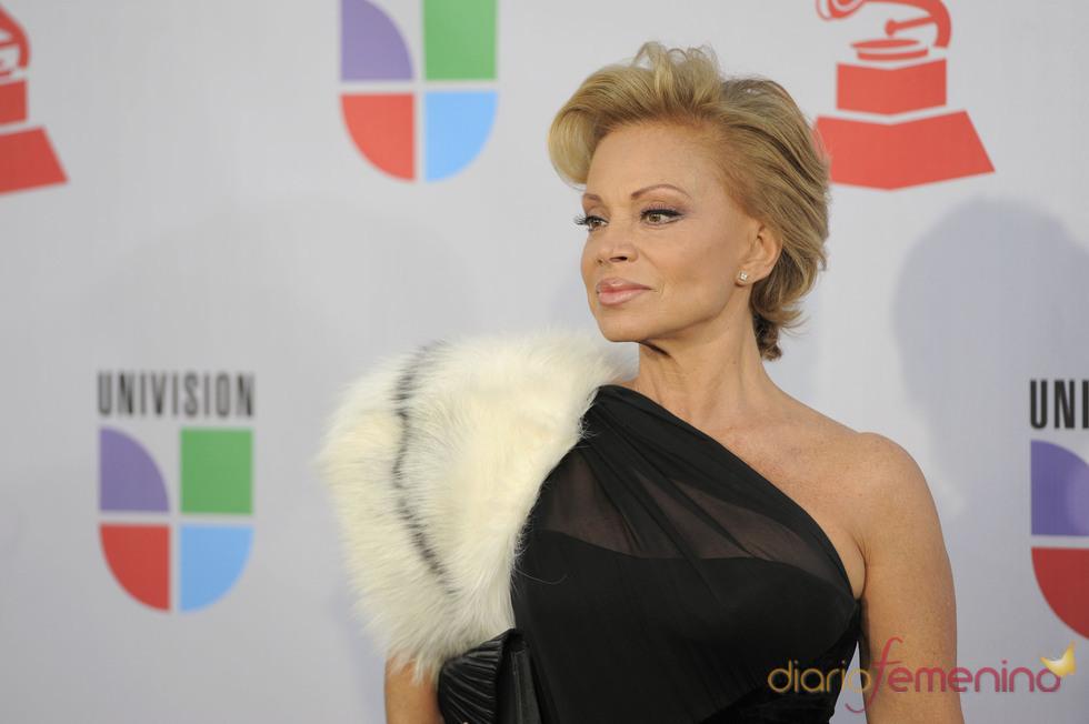 Paloma San Basilio en los Grammy Latino 2010
