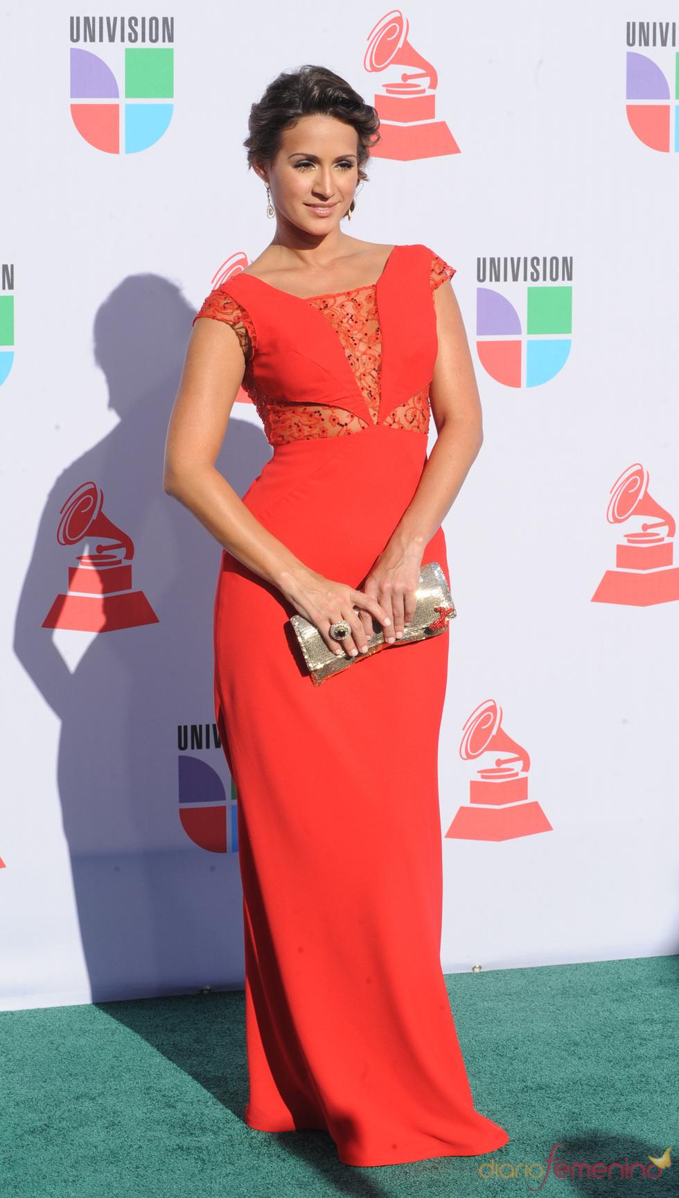 Melissa Marty en los Grammy Latino 2010