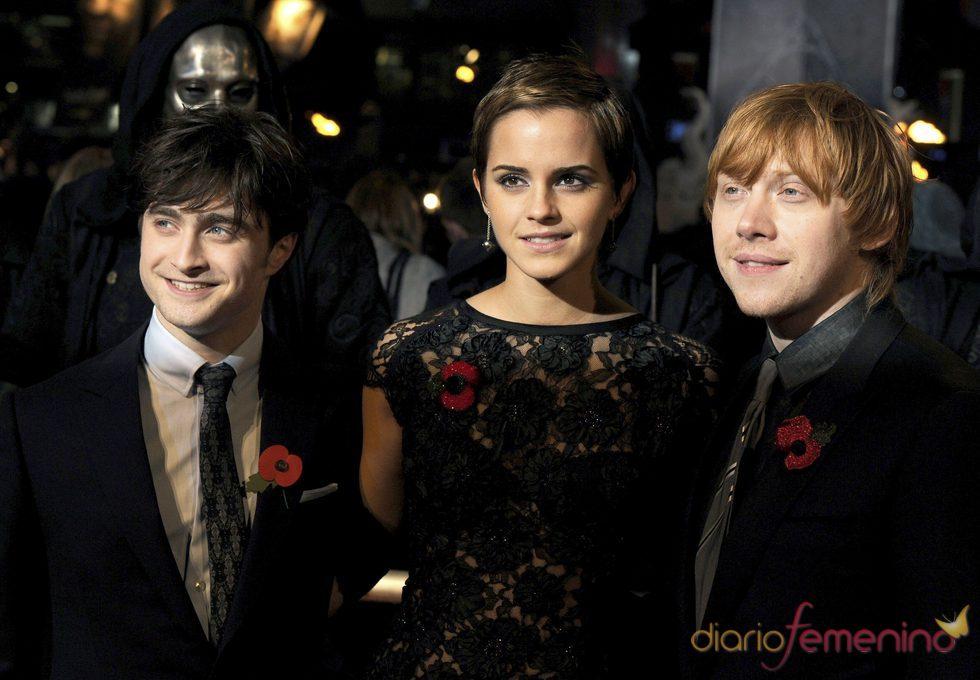 Estreno en Londres de 'Harry Potter y las reliquias de la muerte I'