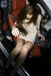 Lindsay Lohan deja su intimidad al descubierto