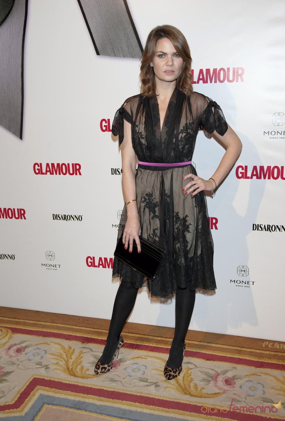 Alejandra Rojas en los Premios Top Glamour 2010