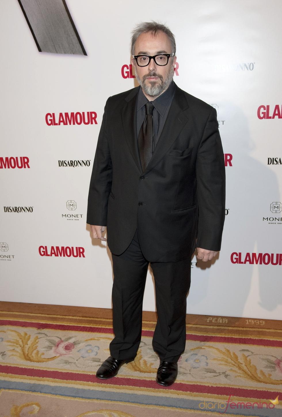 Premios Top Glamour 2010 con Álex de la Iglesia