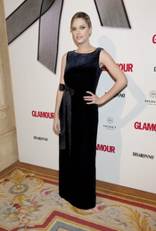 Carolina Bang en los Premios Top Glamour 2010