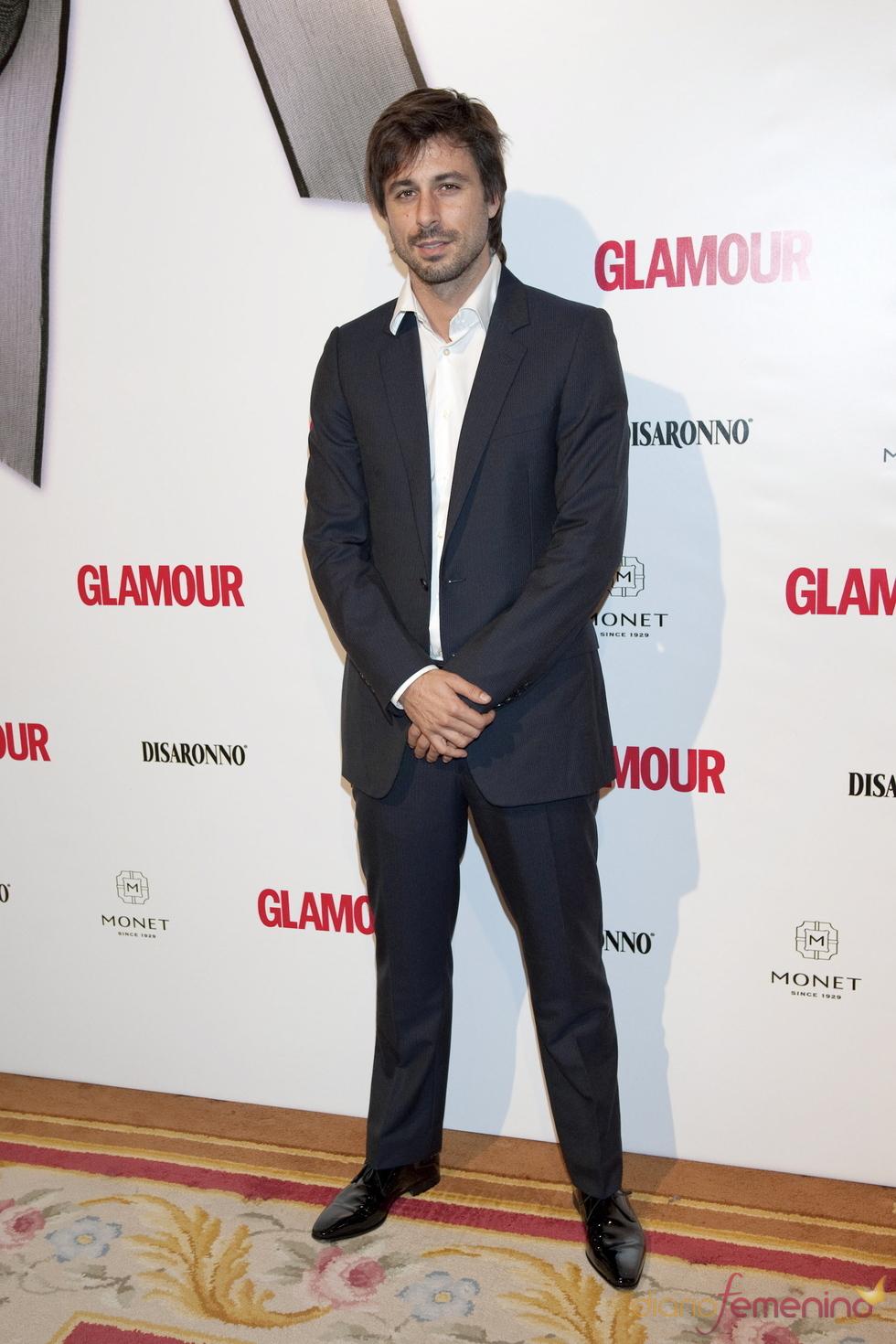 Hugo Silva en los Premios Top Glamour 2010