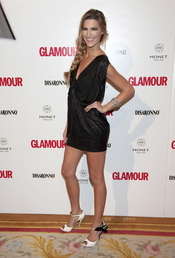 Premios Top Glamour 2010 con Laura Sánchez