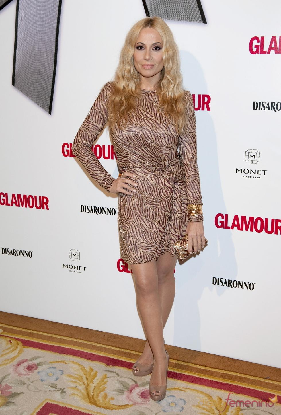 Marta Sánchez en los Premios Top Glamour 2010