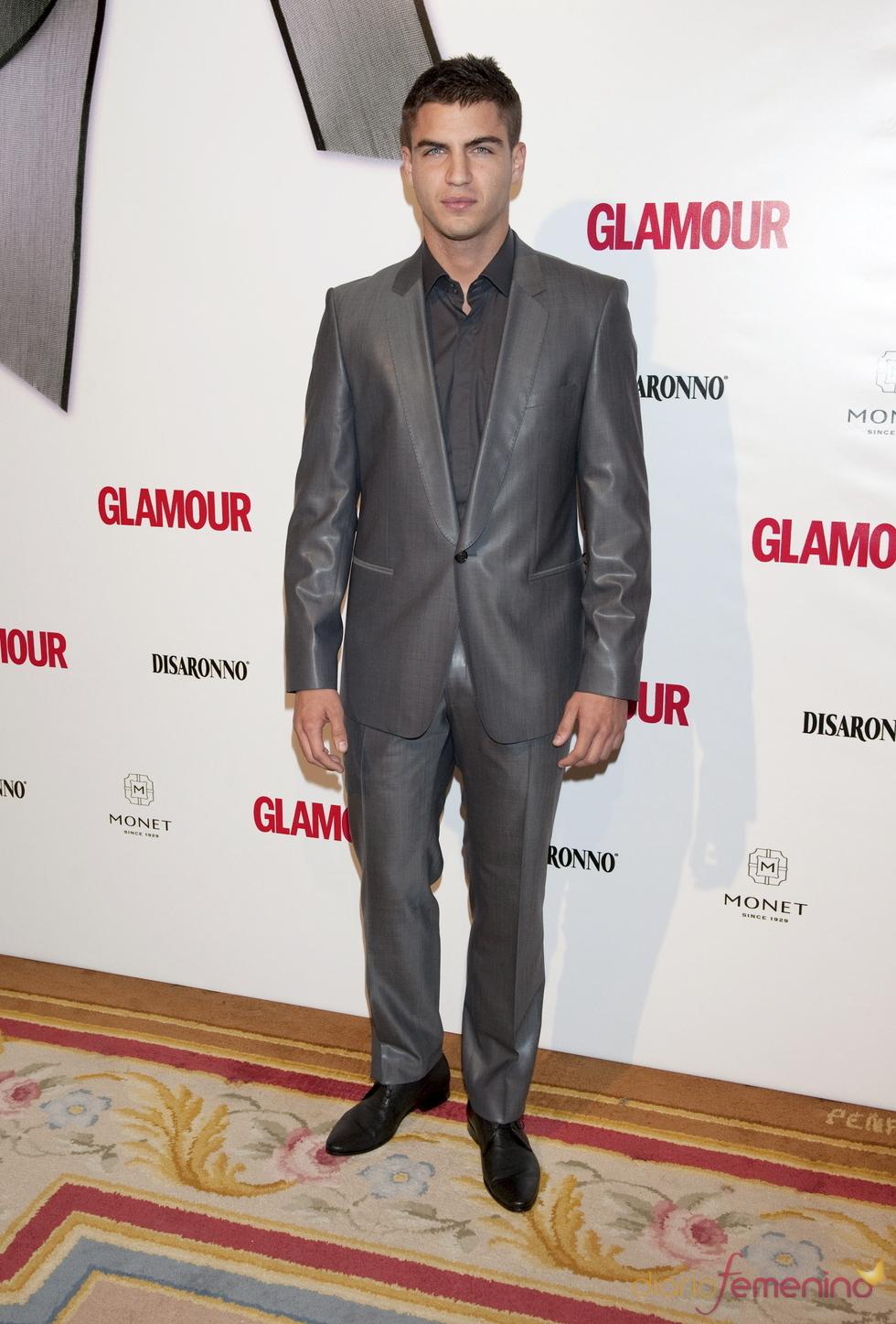 Maxi Iglesias en los Premios Top Glamour 2010