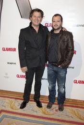 Miki Nadal y Ángel Martín en los Premios Top Glamour 2010