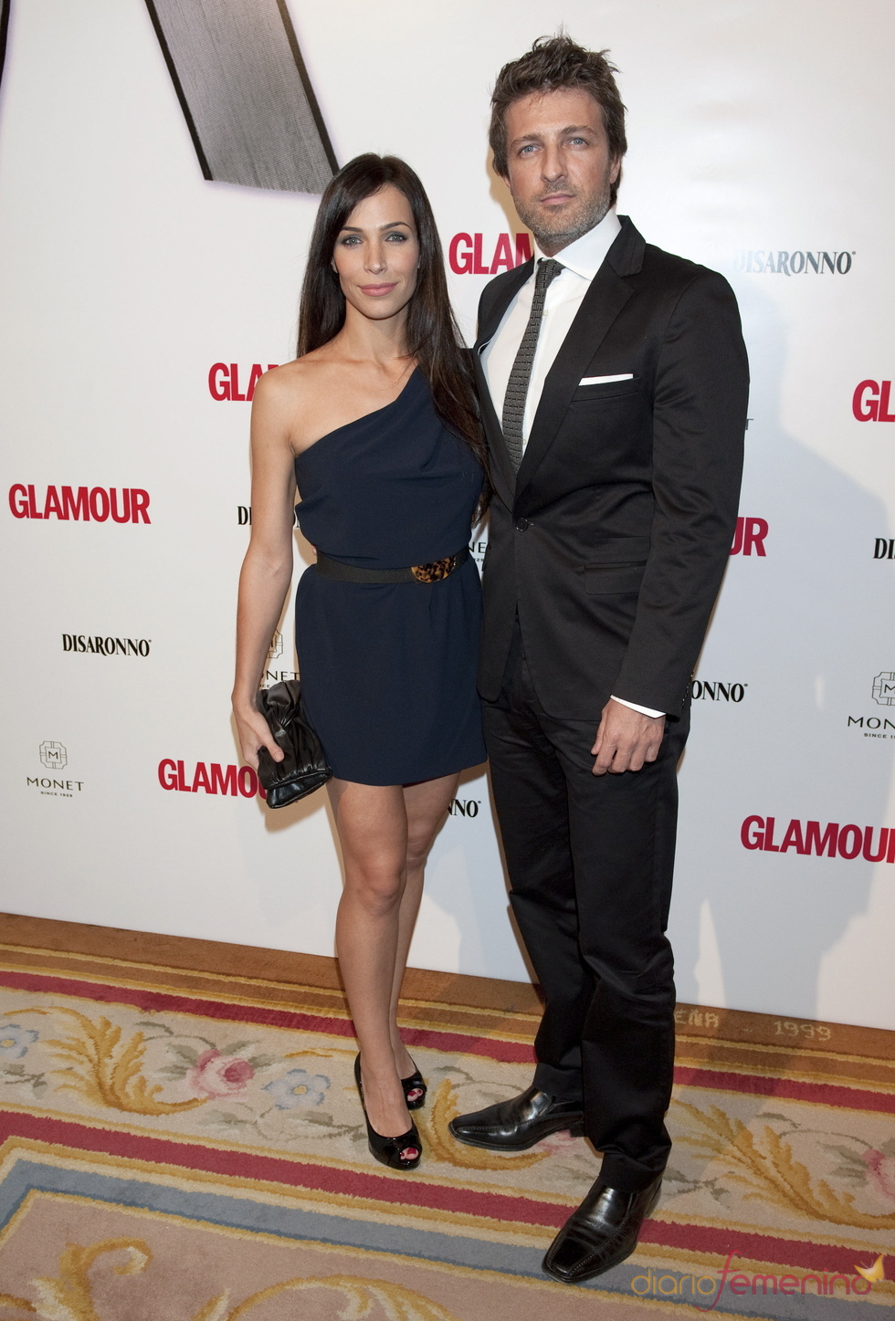 Nerea Garmendia y Jesús Olmedo en los Premios Top Glamour 2010