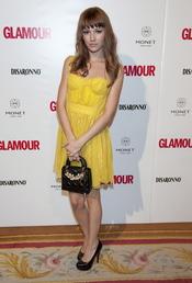 Úrsula Corberó en los Premios Top Glamour 2010