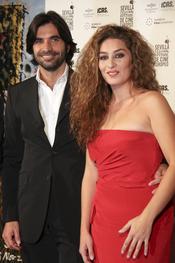 Javier Conde y Estrella Morente junto después de la polémica