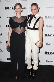 Liz Goldwyn y Chloe Sevigny posan juntas
