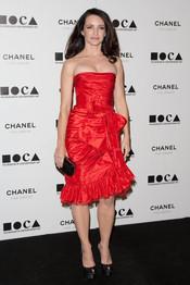 Kristin Davis en la Gala MOCA 2010
