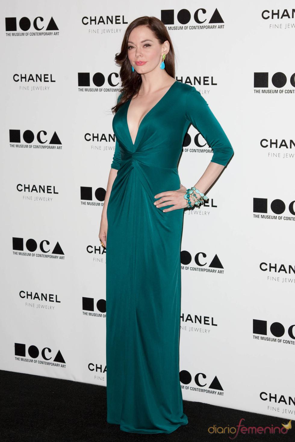 Rose McGowan en la Gala MOCA 2010