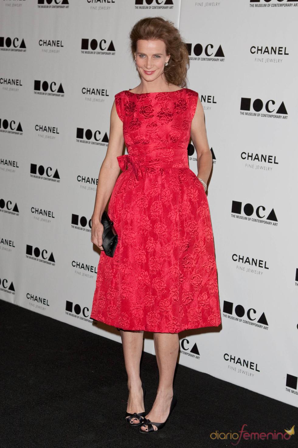 Rachel Griffiths en la Gala MOCA 2010
