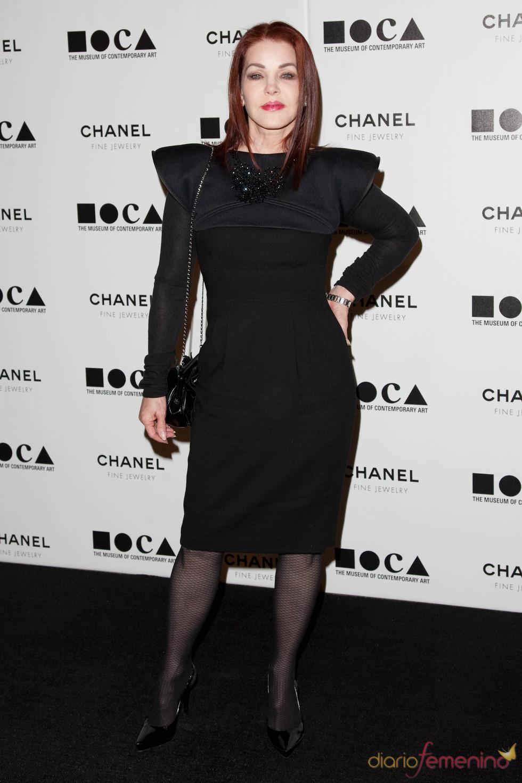 Priscilla Presley en la Gala MOCA 2010