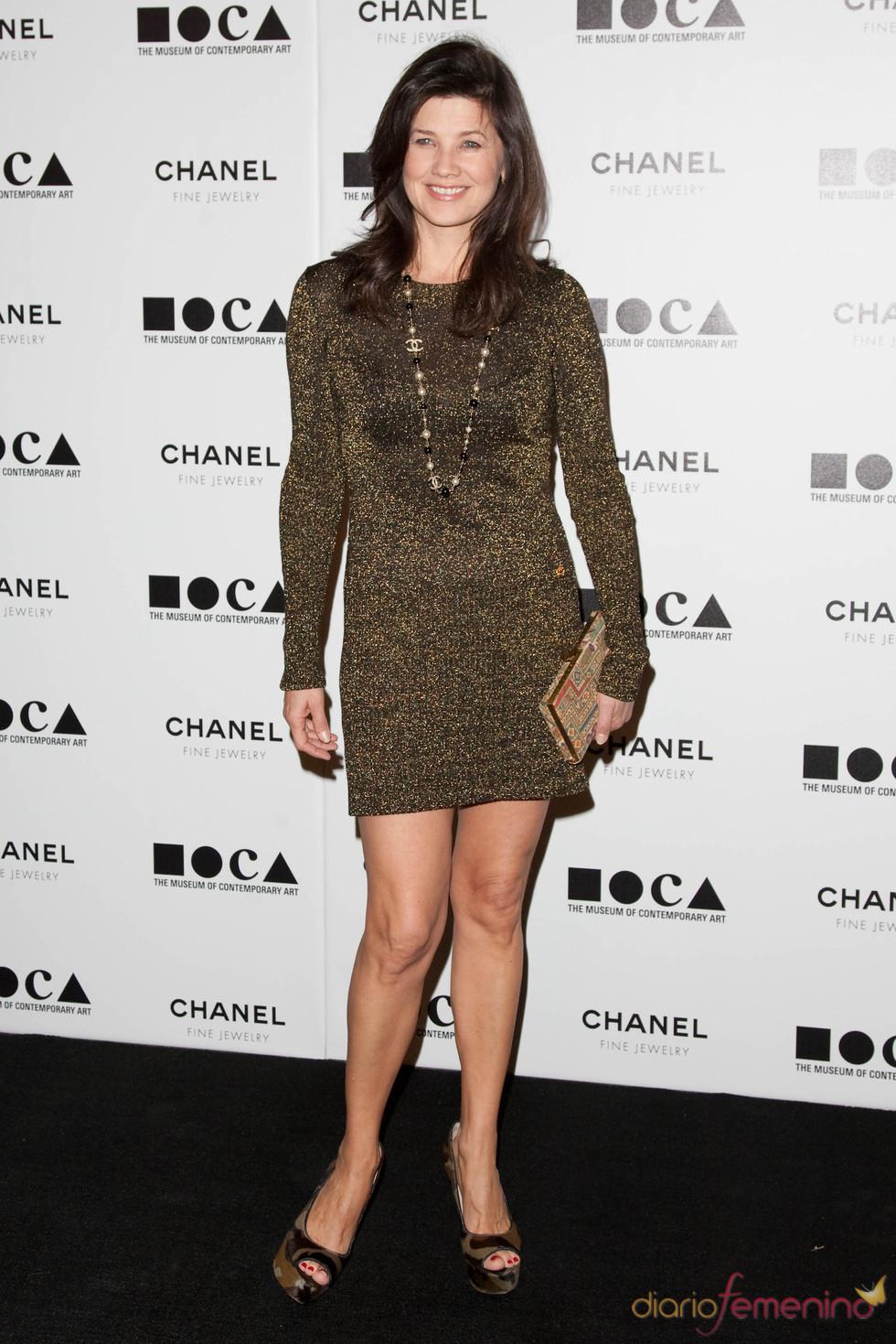 Daphne Zuniga en la Gala MOCA 2010