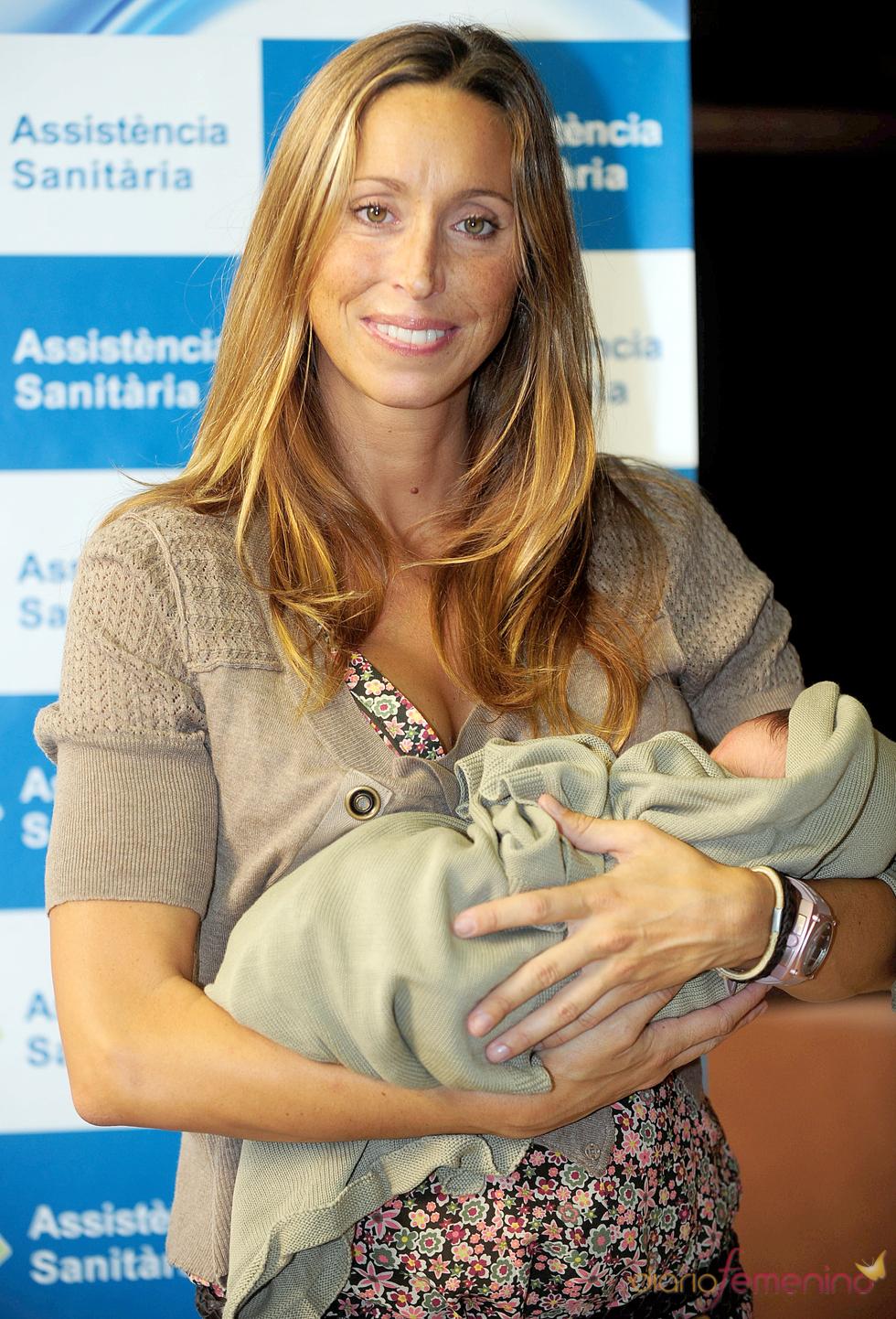Gemma Mengual mamá de su primer hijo