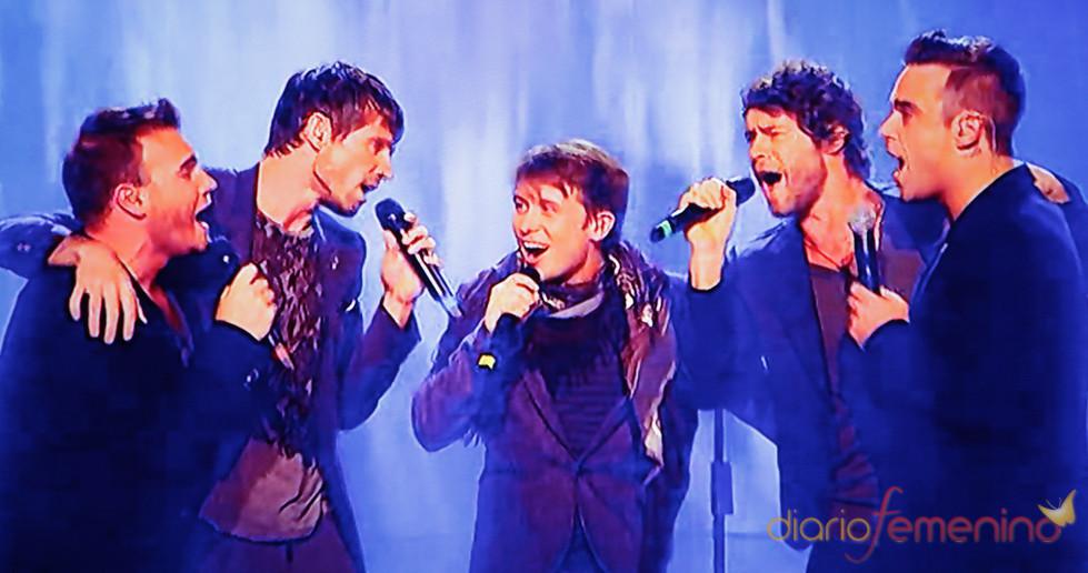 Take That actuan en directo por primera vez en 'The X Factor'
