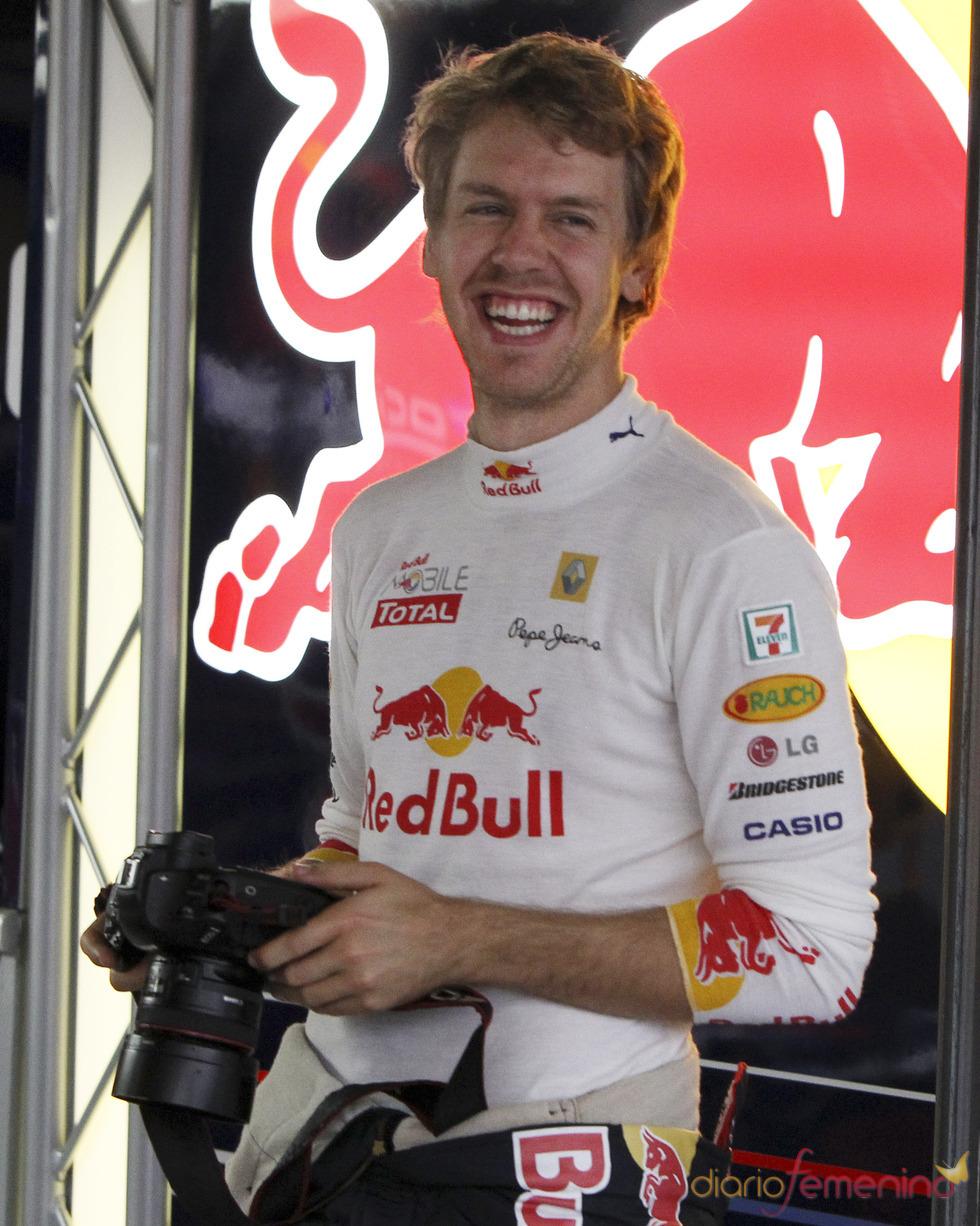 Sebastian Vettel, el chico de la sonrisa intacta