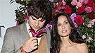 Demi Moore no pierde de vista a su querido Ashton Kutcher