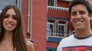 Elena Furiase y su novio