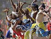 Las mejores imágenes de la Ceremonia de Apertura del Mundial 2010
