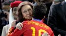 La reina Sofía se emociona con los triunfadores del Mundial