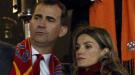 Felipe y doña Letizia sufren con 'La Roja' en la final del Mundial