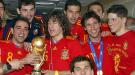 La selección española vuelve a casa con la Copa del Mundo