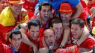 Gran celebración de los campeones del Mundial en Madrid