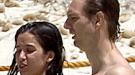 Paula Prendes, en la playa con Javier Cárdenas