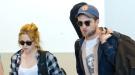 Robert Pattinson y Kristen Stewart, juntos en el aeropuerto de LA