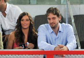 Famosos VIP con 'La Roja' en el baloncesto