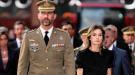 Los príncipes de Asturias despiden a los guardias civiles asesinados