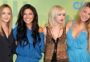 Las chicas de Gossip Girl, a la moda