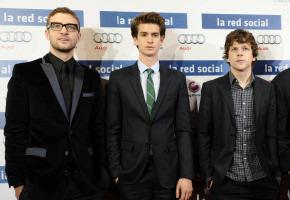 Estreno de 'La red social' en Madrid