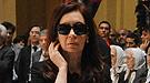El dolor de Cristina Fernández y sus hijos Florencia y Máximo Kirchner