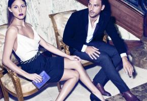 Olivia Palermo y Johannes Huebl en el catálogo de Mango