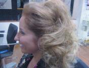 Peinado estilo años 60 para Navidad