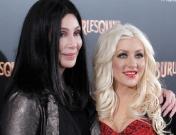 Cher y Christina Aguilera presentan 'Burlesque' en Madrid